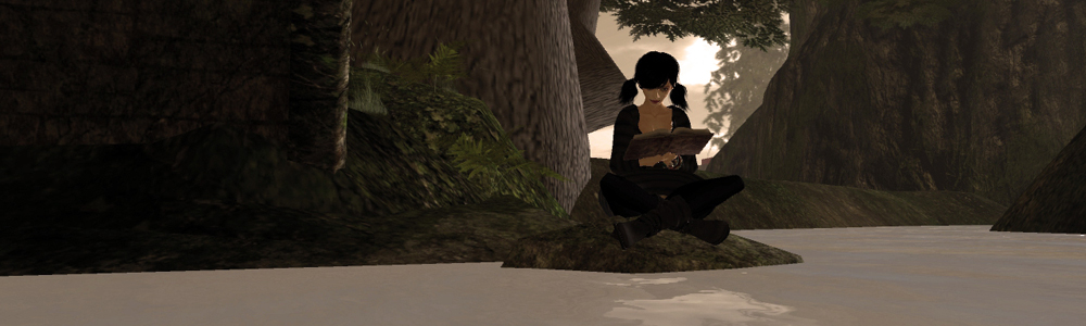 A quiet spot on the Island of jokaydia in Second Life